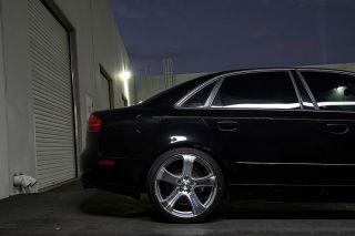 "19"" Audi A4 B6 MRR HR2 Machined Silver Concave Wheels Rims"
