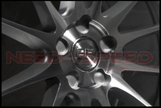 """19"""" Ground Force GF06 GF6 Silver Concave Rims Wheels Fits Infiniti G35 Coupe"""