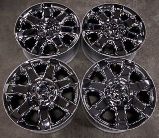 """Ford F150 Expedition 18"""" Factory Chrome Wheels Rims 04 14 3785"""