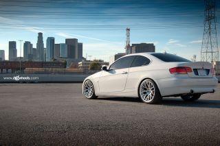 "19"" BMW E92 328 335 Coupe Avant Garde M359 Black Concave Staggered Wheels Rims"