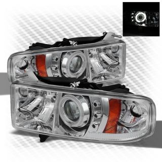 Chrome Halo Projector Headlights