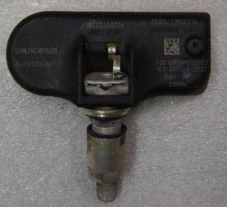 Dodge Chrysler Jeep Factory TPMS Tire Monitor Sensor 047027392AD