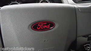 Ford F150 Steering Wheel Airbag Emblem Decal Overlay 09 2010 2011 2012 2013