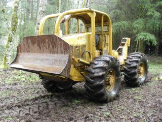 Case Skid King Log Skidder Winch Arch