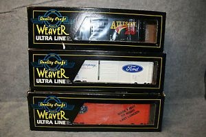 Quality Craft Weaver Ultra Line Davey Allison Ford Parts FLM Train Cars