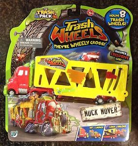 The Trash Pack Garbage Trash Wheels Muck Mover Exclusive Car Semi Truck