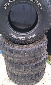 6 35x12 50x17 Dick Cepek Mud Country Tires 35x12 50R17 M T 35 12 50 17 Terrain