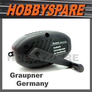 Graupner Hand Crank RC Nitro Gas Fuel Pump Car Boat