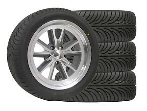 """Wheel Tire Package Eleanor 17x7"""" 17x8"""" 235 45 17 Sumitomo Ford Mustang Cougar"""