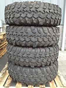 "39 5"" Irok Super Swamper Mud Terrain Tires"