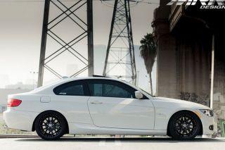 "19"" MRR GT 7 GT7 Black Staggered Rims Wheels Fits BMW E92 E93 M3"