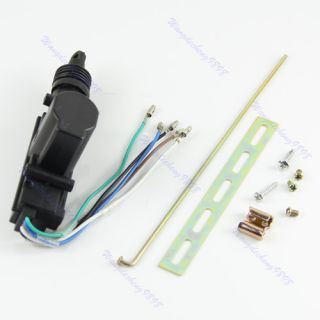Car Auto Locking System 5 Wire Single Gun Type Central Door Lock Actuator Motor