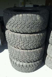 4 35x12 50R20 Toyo Open Country M T Tires 35x12 50x20 MT Nitto Grappler 35 Inch