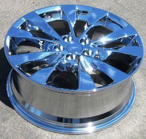 "Exchange Your Stock 4 New 19"" Factory Toyota Venza Chrome Wheels Rims 69620"