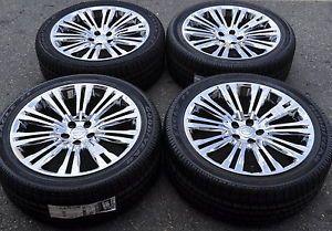 "20"" Chrysler 300 Chrome Wheels Rims Tires Factory Wheels 2013 2014 2420"