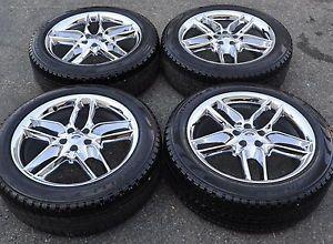 """20"""" Ford Edge Chrome Wheels Rims Tires Factory Wheels 2014'"""
