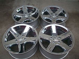 "20"" Dodge RAM 1500 Factory Chrome Clad Wheels Rims 2011"