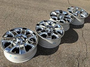 """18"""" Ford F150 Expedition Limited Factory Chrome Clad Wheels Rims 2013"""