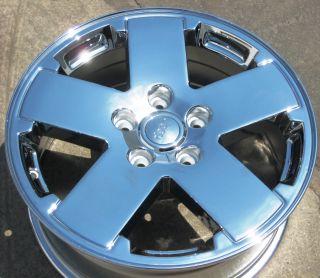 "4 New 18"" Factory Jeep Wrangler Chrome Wheels Rims Commander Grand Cherokee"