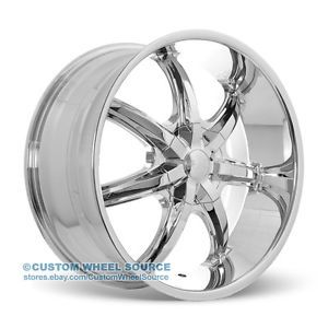 "18"" U2 35S Wheels Rims and Tire Package Chrome 5x114 3 5x112 Altima Accord 17 20"