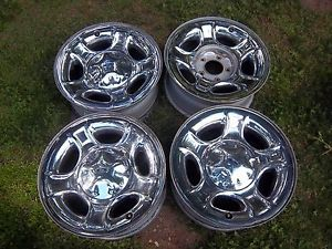 17 Ford F150 Factory Chrome Wheels Rims 3398 00 01 02 03 Expedition