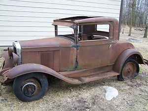 1929 Chevrolet Coupe Restoration Parts Ideal for Rat Rodder 1928 1930