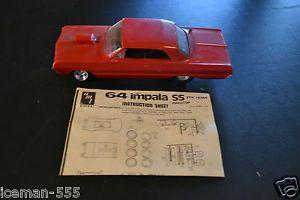 AMT 1964 64 Chevy Impala Model Car Kit Parts Project Rebuilder