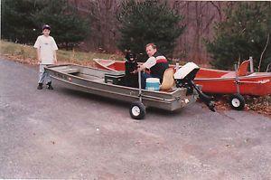 Launching Hand Dolly Boat Canoe Trailer Mast'R III Model F J All Terrain Tires