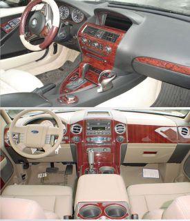 Ford F 250 350 99 04 Interior Wood Dash Kit Trim Parts Accessories