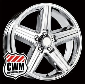 "18 inch 18x8"" IROC Z Chrome Replica Wheels Rims 5x4 75"" for Chevy rwd 1982 1992"