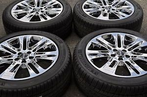 "18"" Lincoln MKZ Chrome Wheels Rims Tires Factory 2013 2014"