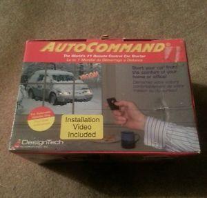Autocommand Remote Control Car Starter Model 20023