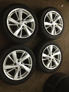 17 inch Nissan Altima Wheels and Continental Tires