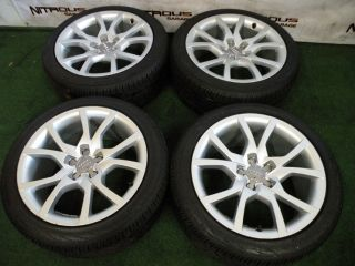 """18"""" Factory Audi A5 Wheels Continental Tires S5 2 0T 3 2 3 0T"""