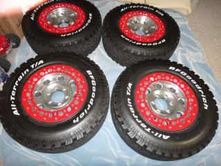 American Racing Mojave Wheels 16x8 w BFG All Terrain 265 70 16 Tires