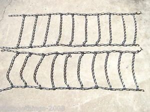 Lawn Tractor Tire Chains