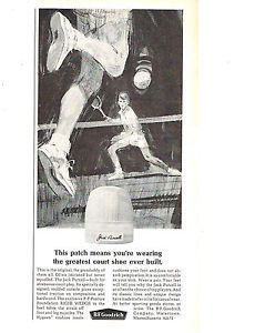 1964 Jack Purcell BF Goodrich Tennis Shoes Print Ad