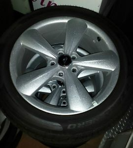 "New 2014 Mustang GT 18"" Factory Wheels Tires Pirelli 235 50 18"