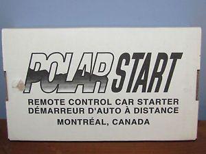 Polar Start Remote Control Car Starter
