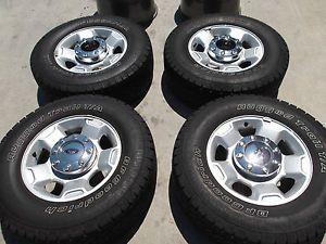"""17"""" Ford F250 F350 Factory Wheels Tires Rims BFGoodrich 3829"""