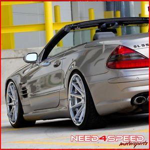 """20"""" Mercedes Benz W212 E350 E550 Coupe Rohana RC10 Concave Silver Wheels Rims"""