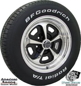15x7 15x8 American Racing VN500 Wheels BFG Tires in Stock Ford Mustang 1965