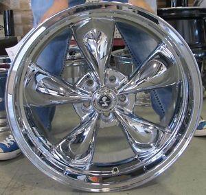 American Racing Shelby Torq Thrust Chrome 5x4 5 114 3 20mm Single Wheel