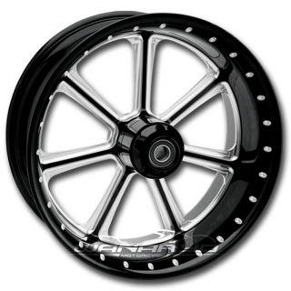 Roland Sands Diesel Contrast Cut PM Harley Wheel Set