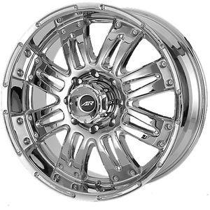 20x8 5 Chrome American Racing Assault Wheels 6x5 5 30 Cadillac Escalade