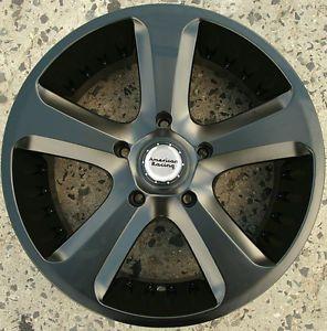 American Racing Circuit 20 x 9 0 s Black Rims Wheels Infiniti FX35 FX45 5H 30