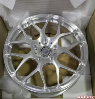 """HRE Wheels P40 1pc Forged 19"""" Brushed Porsche Turbo C4S"""