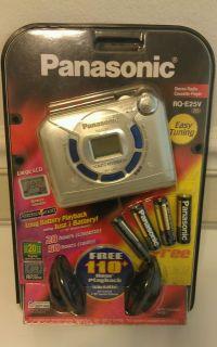 "Panasonic RQ E25V Stereo Radio Cassette Player Sony ""Walkman"" Style Auto Reverse"