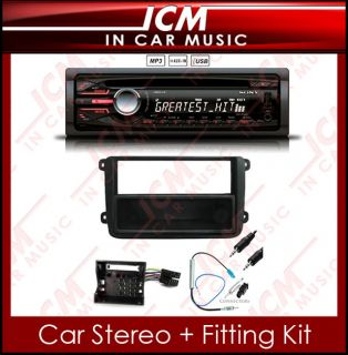 CDX GT40U VW Jetta in Car CD Player Aux  USB Car Stereo Fitting Kit