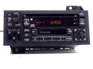 Chrysler Dodge Factory CD Player Cassette Radio